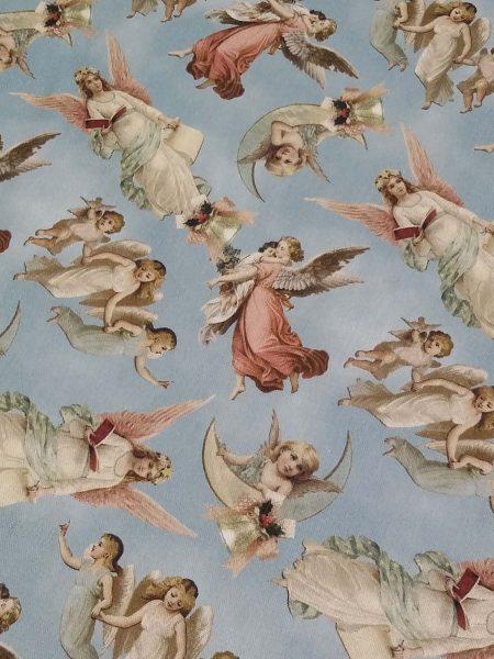 ύφασμα άγγελοι στον ουρανό