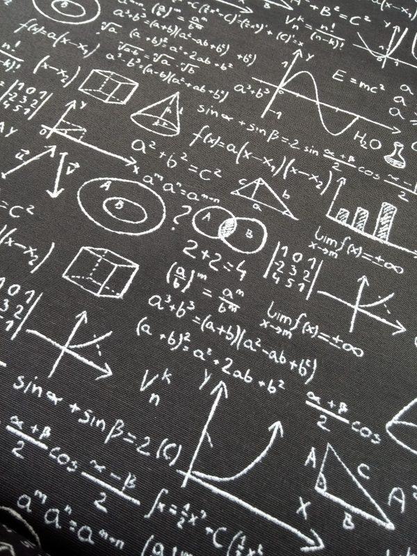 ύφασμα μαύρο-άσπρο άλγεβρα-γεωμετρία