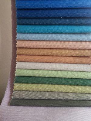 Ύφάσματα καραβόπανα αδιάβροχα σε πολλά χρώματα σε 2.80 φάρδος