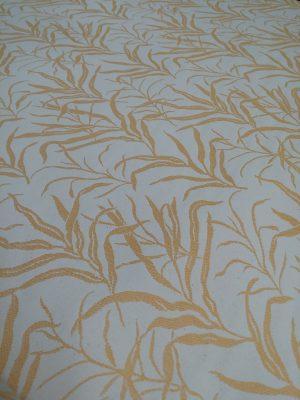 Ύφασμα τροπικά φύλλα κίτρινα