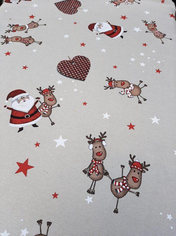 χριστουγεννιάτικο λινό