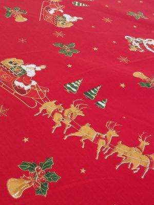 χριστουγεννιάτικο ύφασμα τραπεζομάνδηλο