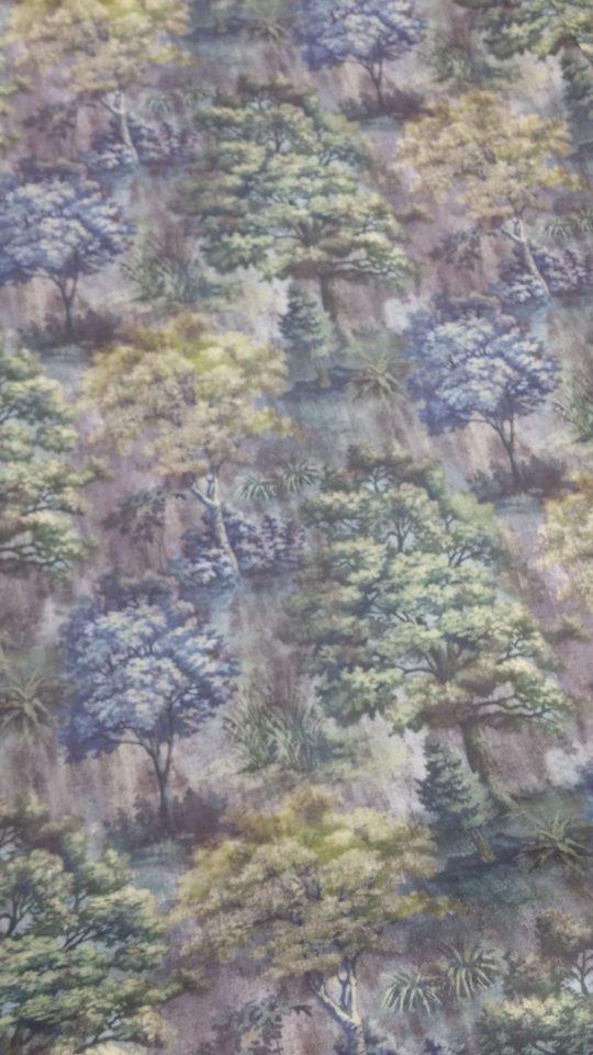 ύφασμα-καραβόπανο-κουρτίνα-δάσος
