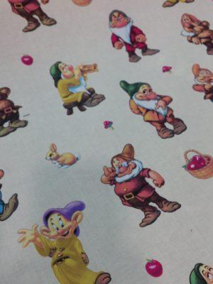 Ύφασμα βαμβακερό παιδικό γνήσιο Disney σεντόνι