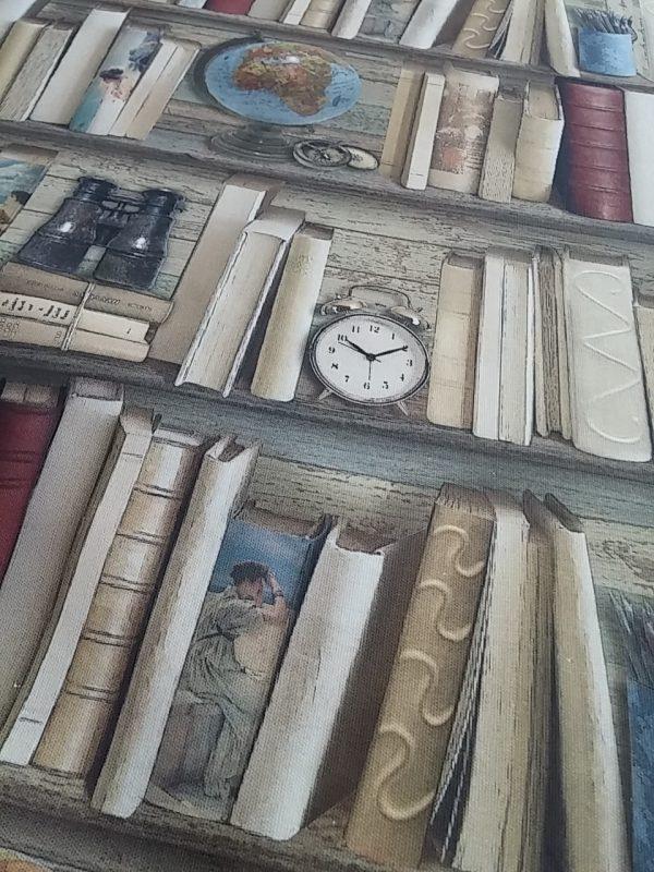 ύφασμα βιβλιοθήκη