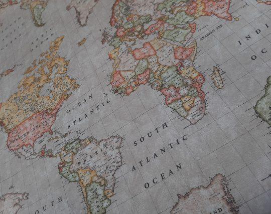 υδρόγειος χάρτης