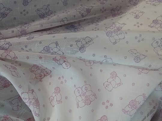 παιδικές κουρτίνες αρκουδάκια