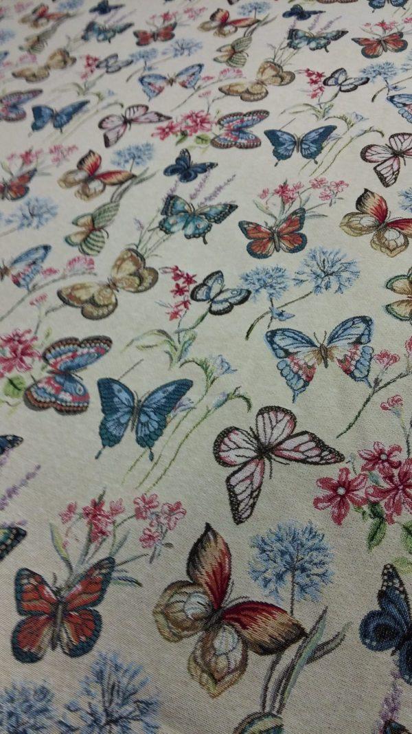 Ύφασμα πεταλούδες