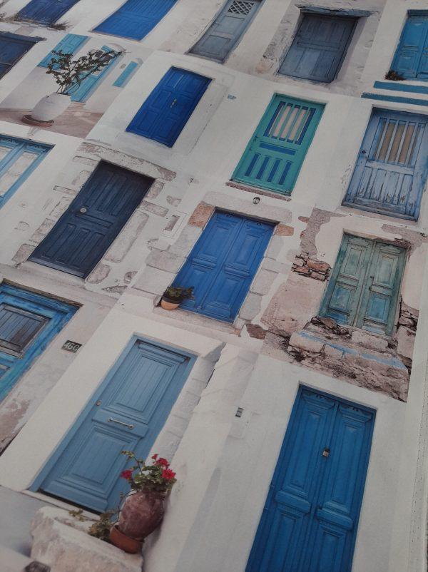 ύφασμα παραδοσιακές πόρτες