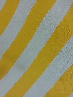 κίτρινο άσπρο ριγέ