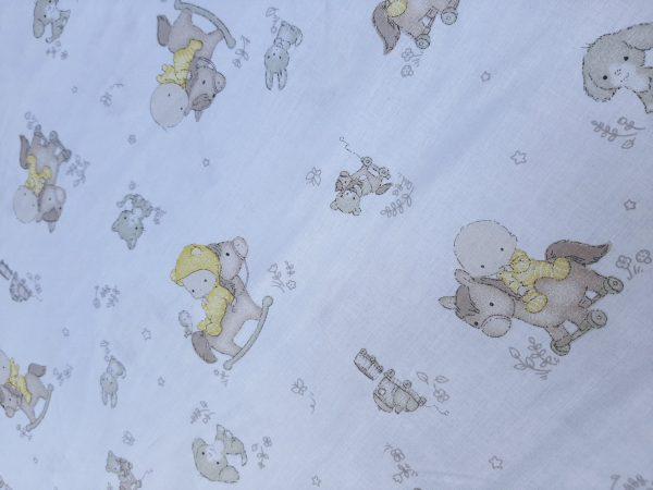 παιδικό κίτρινο μωρό αλογάκι