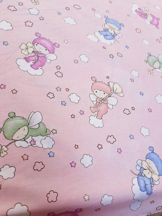 σεντόνια παιδικά μωράκια στα σύννεφα