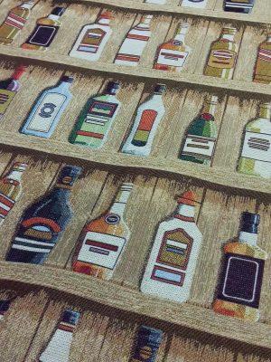 ύφασμα επίπλωσης-μπουκάλια