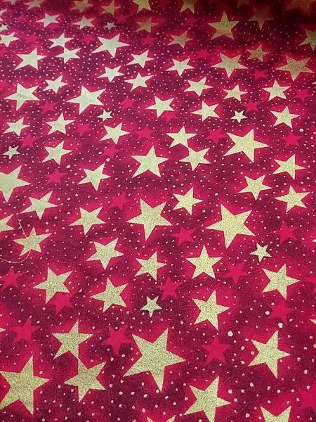 xmass stars cotton