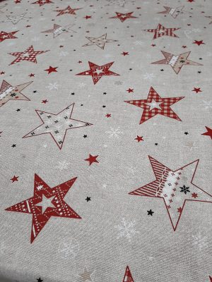 τραπεζομάντηλο αστέρια