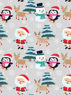 χριστουγεννιάτικο βαμβακερό για μάσκεσ