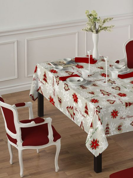christmass table cloth