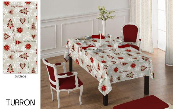 christmass table cloth