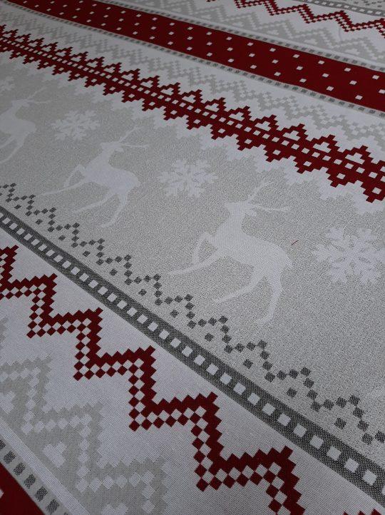 Yφάσματα χριστουγεννιάτικα ριχτάρια διακόσμηση