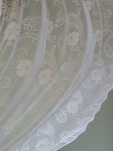 Δαντέλα λαχούρι λουλούδι για κουρτίνα