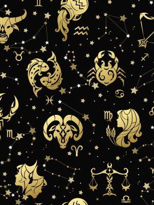 ύφασμα ωροσκόπια αστερισμοί