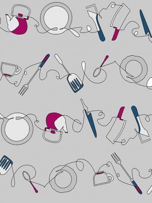ΎΦΑΣΜΑ κουζίνας μαχαιροπήρουνα