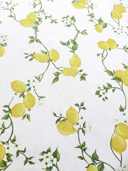 τραπεζομάντηλο λεμόνια