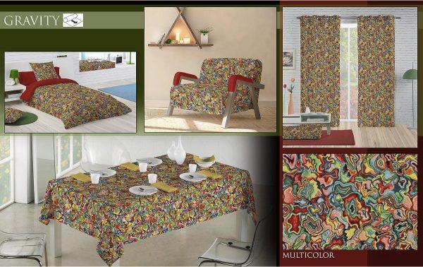 Ταπετσαρία επίπλωσης με το μέτρο πολύχρωμη σε αφηρημένο σχέδιο σε 2.80 φάρδος γιά ντύσιμο καναπέ, κουρτίνα , ριχτάρι , μαξιλάρια και κάθε διακόσμηση
