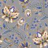 λουλούδια χρυσά μπλέ οριένταλ