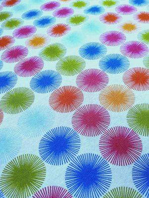 γεωμετρικά-σχέδια-κύκλοι-μπλέ-πράσινο-φούξια