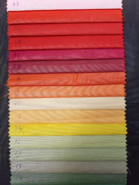 αδιάβροχα αλέκιαστα υφάσματα με TEFLON μονόχρωμα πολλά χρώματα σε 2.80 φάρδος