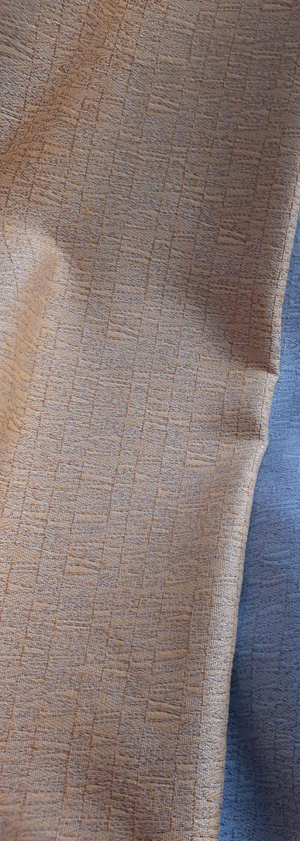 ύφασμα επίπλωσης μονόχρωμο Χρυσό Κίτρινο χρώμα στην ύφανση σε 2.80 φάρδος