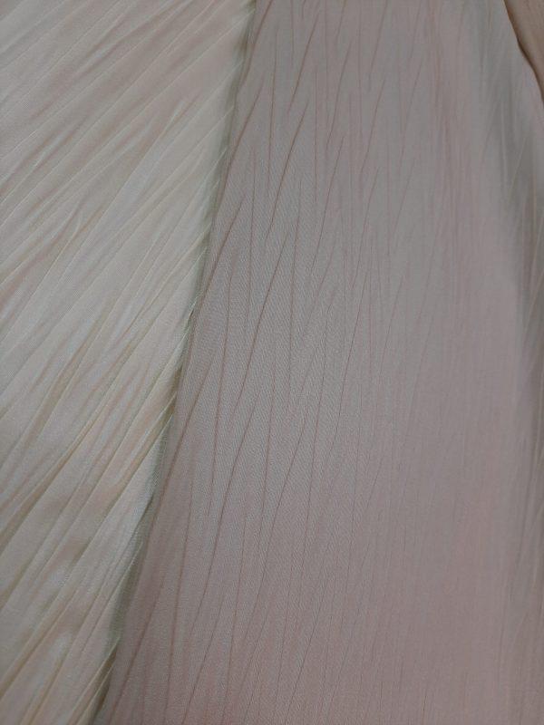 Υφάσματα Ταφτάδες πλισέ σε χρώματα εκρού μπέζ και 3 μέτρα φάρδος