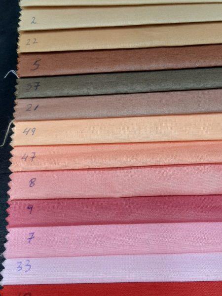 ύφασμα τσίνς (chintz) αδιάβροχο με Teflon σε πολλά χρώματα γιά τραπεζομάντηλα ναμπερόν