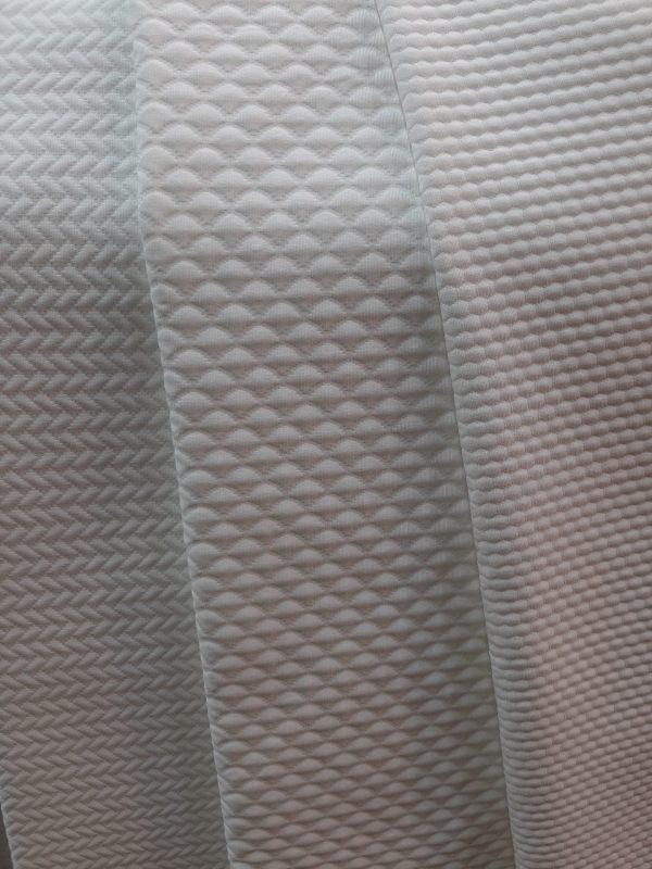 λευκά ζακάρ υφάσματα τύπου πικέ για κουβέρτα,κουρτίνα ριχτάρι,κούβρλι σε 3.20 φάρδος