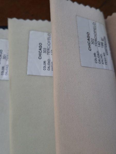 ΒΕΛΟΎΔΟ επίπλωσης σε τρία ανοιχτά χρώματα και 1.40 φάρδος