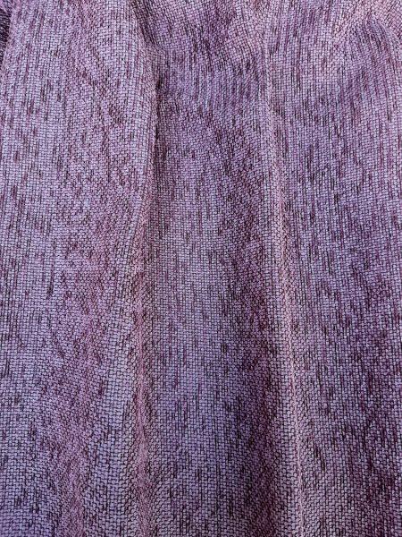 ύφασμα κουρτίνας υφαντό μαλακό σε χρωμα μώβ-ρόζ σάπιο μήλο 3 μέτρα ύψος με βαρίδι κάτω